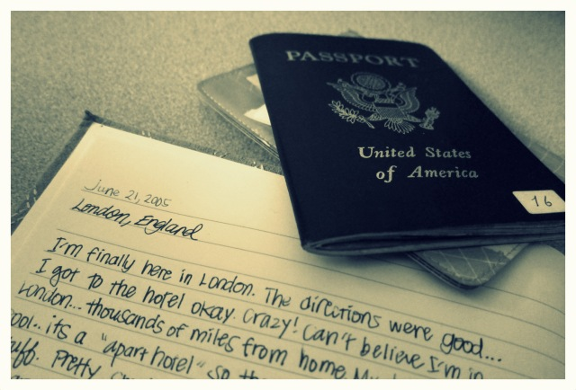 Journal passport