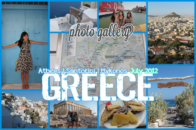 [photo gallery] Greece (July 2012)