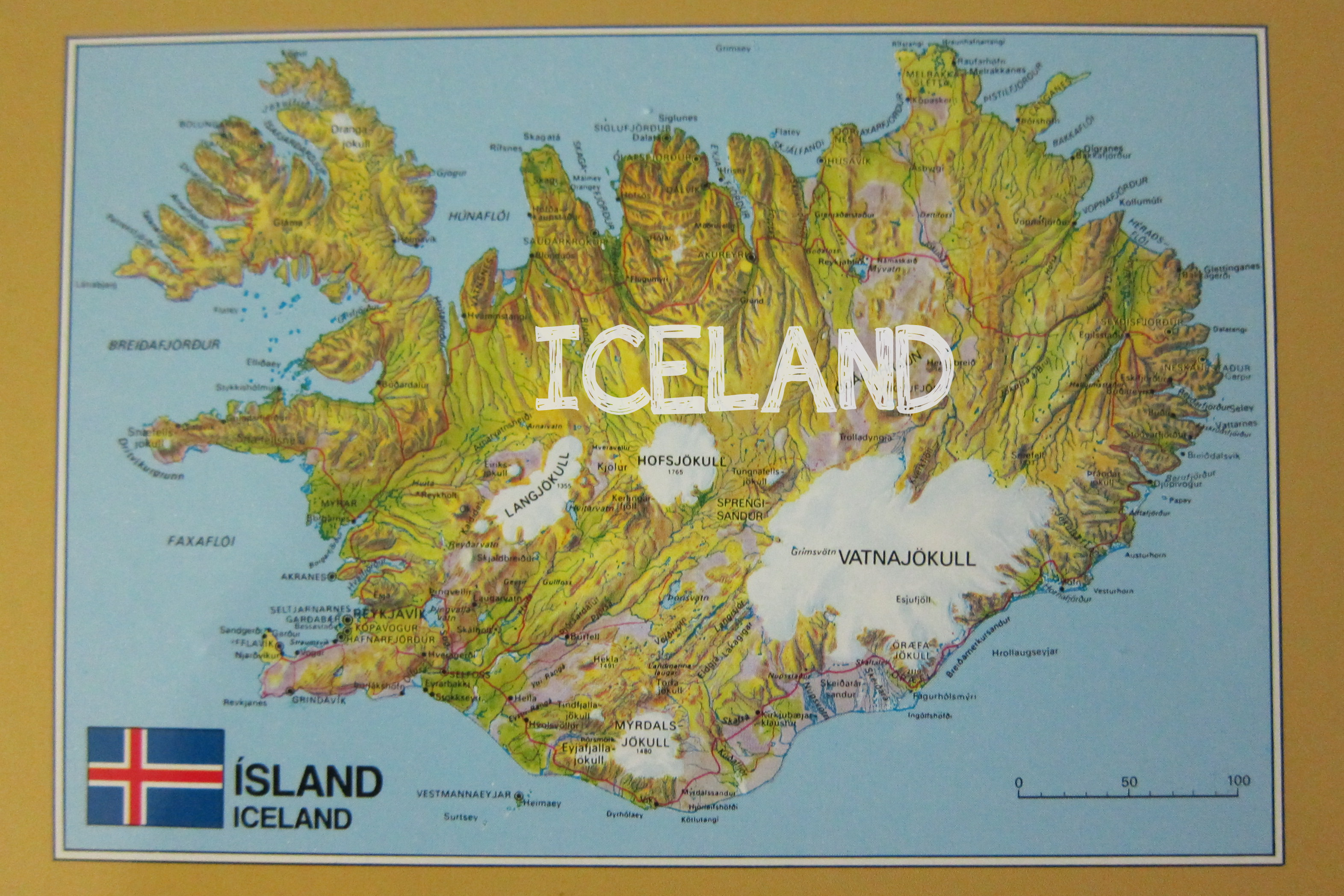 map Maps Discovered on my Travels – Tourist Map Of Reykjavik