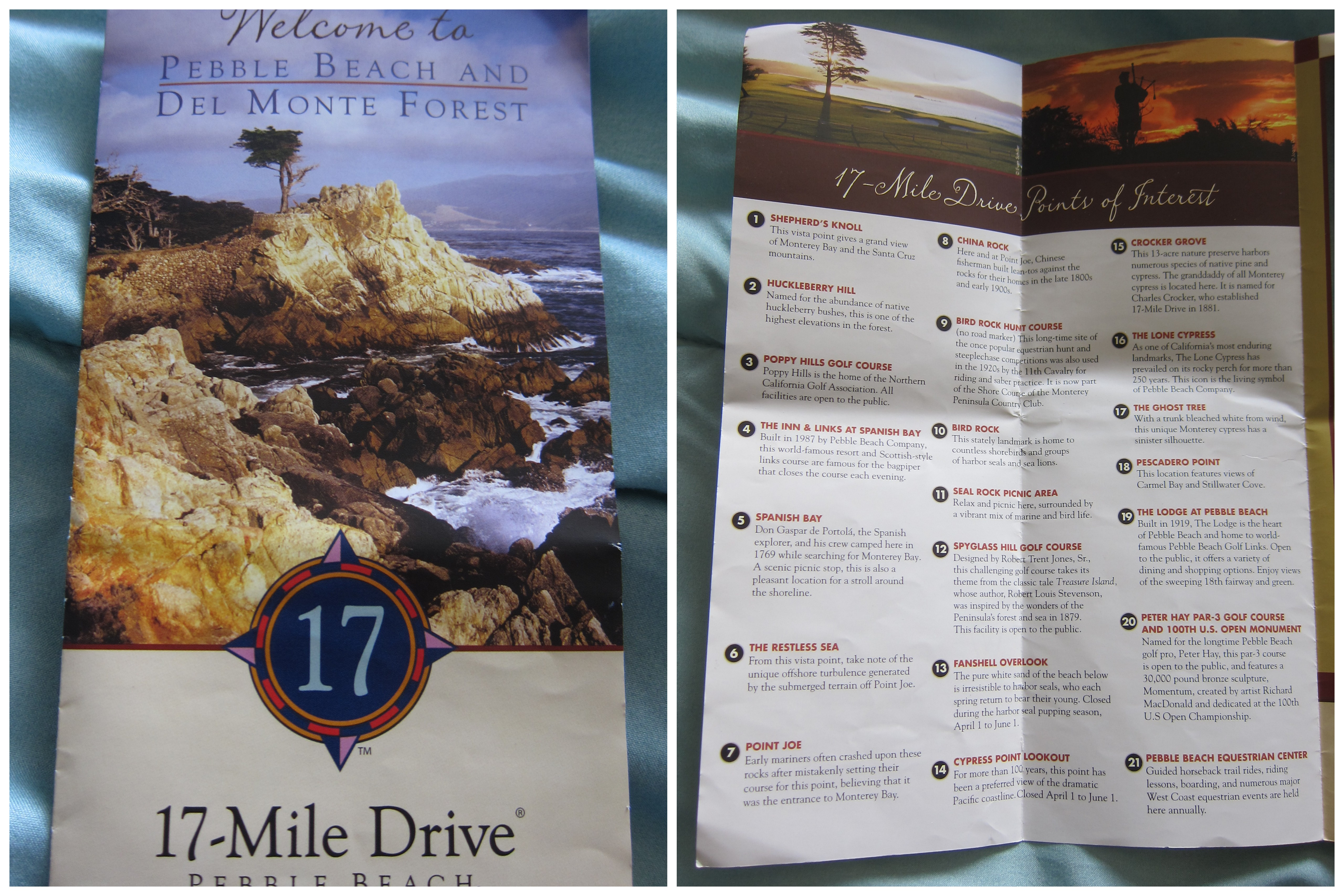 mile drive. photo story the  mile drive on the monterey peninsula  mapwanderer