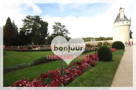 bonjour from chenonceaux copy