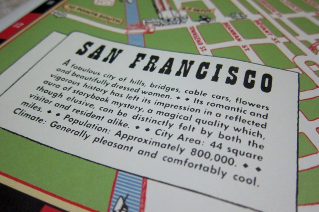 map of san francisco title