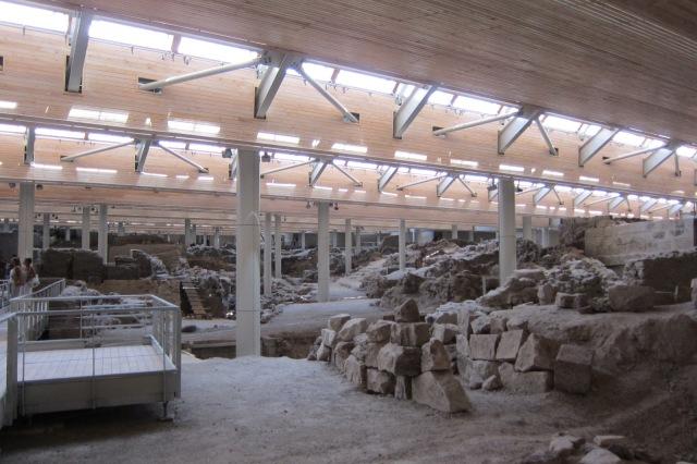 santorini archaeological site