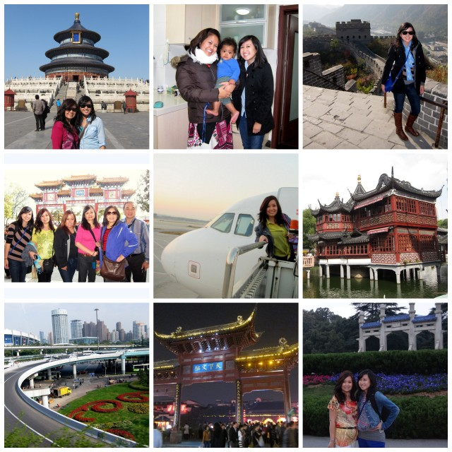 collage china photos