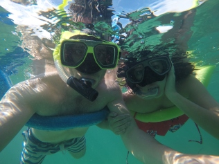 Snorkeling with Marco